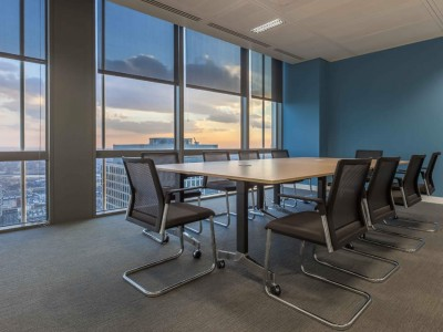 LPC Law office fit out at Canary Wharf London - Ribbon Projects